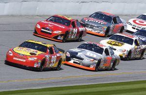 Daytona 500 practice run