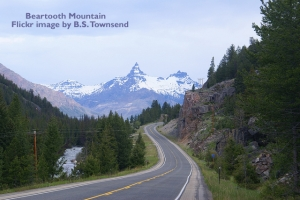 beartooth mountain by B.S. Townsend