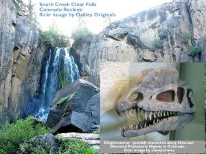 so creek falls and dilophosaurus