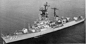 USS Barry Display Ship, decommissioned November 1982 - Wikimedia image