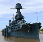 USS Texas, first USN battleship to become a museum and named a National Historic Landmark