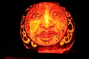 One of many Jack-O-Lanterns seen at the Jack-O-Lantern Spectacular - Flickr image by Rick Payette