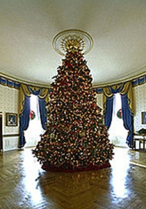 2002 White House Christmas Tree