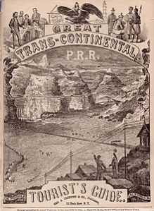 1870, Crouffit's Great Transcontinental Tourist's Guide, Wikimedia Commons