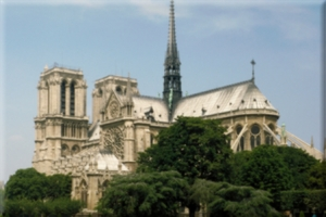 Notre Dame Cathedral - Flickr Creative Commons Image by MCAD Library