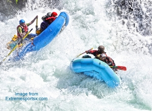 Add White Water Rafting to your Bucket List